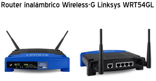 Router inalámbrico Wireless-G Linksys WRT54G